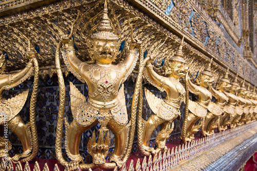 Foto op Plexiglas Bangkok Demon guardians at the Grand Palace, Bangkok