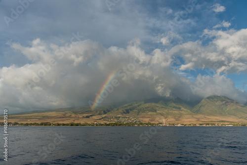 Rainbow over Lahaina, Maui