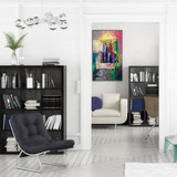 Projekt einer Apartment-Einrichtung (Focus)