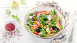 Healthy salad with chicken - 148724510