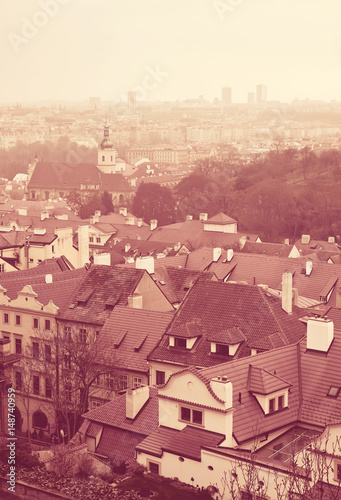 Poster View of Prague