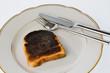 Verbrannte Toast Brotscheiben - 148746502