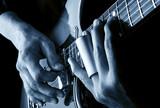 playing slide blues guitar