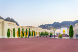 View of the National museum of Oman in Muscat.