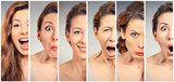 Woman changing mood - 148832979