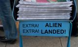 Alien landed