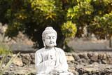 Buda en jardin