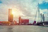 Rotterdam City, Oude Haven oldest part of the harbour,