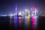 Shanghai Bund nachts
