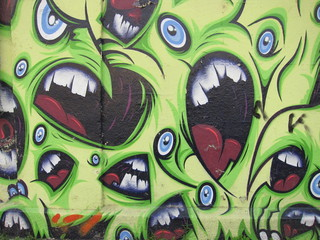 Graffiti-Monster