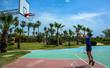 Ба�кетбольна� площадка