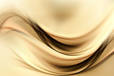 Dynamic sensitive background powerful design. Gold brown blurred color waves design. - 149184501