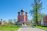 Donskoy monastery in Moscow. Large (