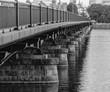 Mass Ave. Bridge to Cambridge