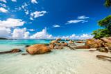 Beautiful beach at Seychelles - 149228193