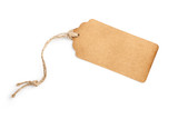 Paper tag on white - 149232550
