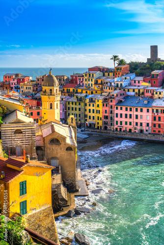 Deurstickers Liguria Vernazza, Cinque Terre National Park, Liguria, Italy