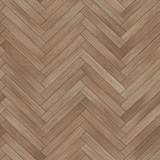 Seamless wood parquet texture (herringbone brown) - 149279994