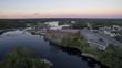 Sunset in Brunswick Maine