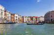 The Grand canal with floating gondolas, Venice, Italy - 149306574