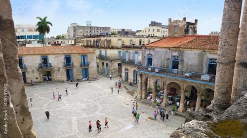 Papiers peints La Havane Havana - Plaza de la Catedral