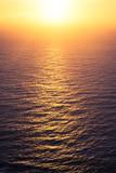 sunsent sea