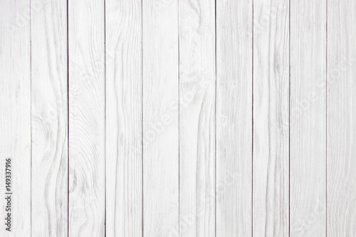 Naklejka white wood wall old vintage using classical background