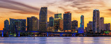 Famous cIty of Miami at sunset - 149372128