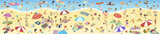 gente en la playa en verano - 149407946