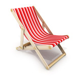 One red lounger - 149611506