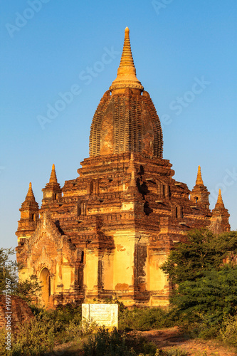 Myanmar - Burma - Pagoden in Bagan Poster