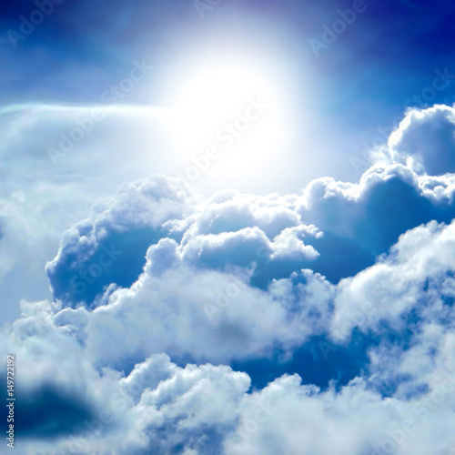 Clouds and Blue Sky - 149722192