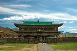 Mongolian buddhist monastery