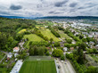 Aerial view of suburbs of Zurich - 149767786