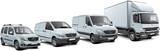 Fototapeta European commercial vehicles set