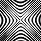 Black and white hypnosis spiral. Vector - 149822752
