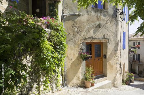 Foto op Canvas Lavendel Village de Dauphin Provence France