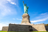 View of the Statue of Liberty in New York, USA.  - 149831972