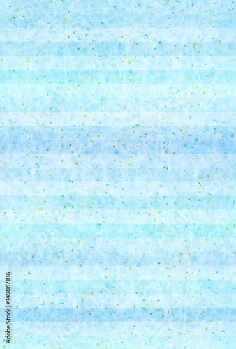 Aluminium Lichtblauw 海 夏 和紙 背景
