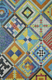 colorful mosaic floor or wall