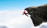 Extreme climbing is his adrenaline - 149949334