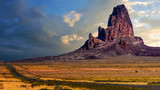El Capitan Stands Watch on the Road to Monument Valley - 149971301