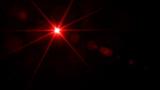 Red, bright laser beam - 149981588