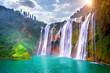 Jiulong waterfall in Luoping, China. - 150068177