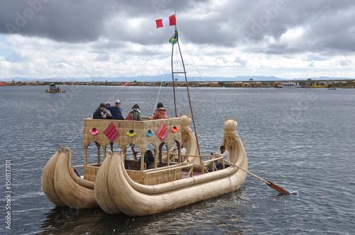 Peru -  Puno -  lake Titicaca