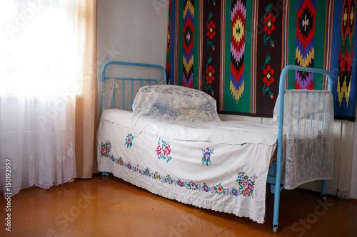 Ukrainian embroidery Poster