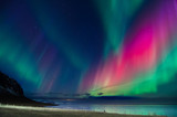 Northern lights colors