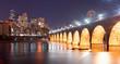 Saint Paul Minnesota Capital City Skyline Mississippi River Ramsey County