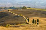 Podere Terrapille im Herbst - Podere Terrapille in autumn, Tuscany