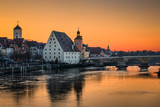 Altstadt von Regensburg, Deutschland